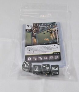 kaartspellen Verzamelingen 4 DICE DC Dice Masters Green Arrow Flash RIP HUNTER'S CHALKBOARD Set RARE CUR
