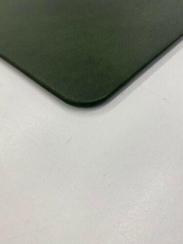 Schreibtischunterlage Schreibtischauflage 40x60cm echt Leder antik vintage grün