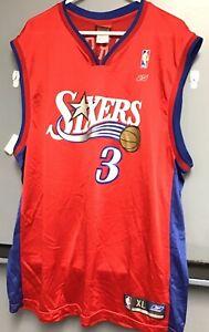 Allen Iverson Jersey ~Reebok~ NBA