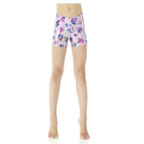 MONDOR Print Gymnastics Shorts NWT 7 PRINTS Child Sizes