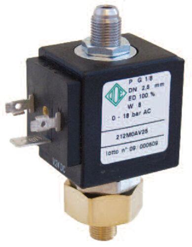 "elettrovalvola acqua 220v ode 212M0AV25 normalmente aperta 8w 1//8/"" oring viton"