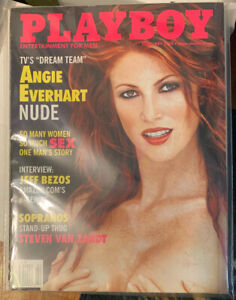 PLAYBOY MAGAZINE FEBRUARY 2000 ANGIE EVERHART | eBay