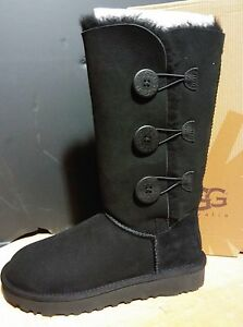 4977a78685d Details about UGG AUSTRALIA WOMENS Bailey Button Triplet II 1016227 boots  black