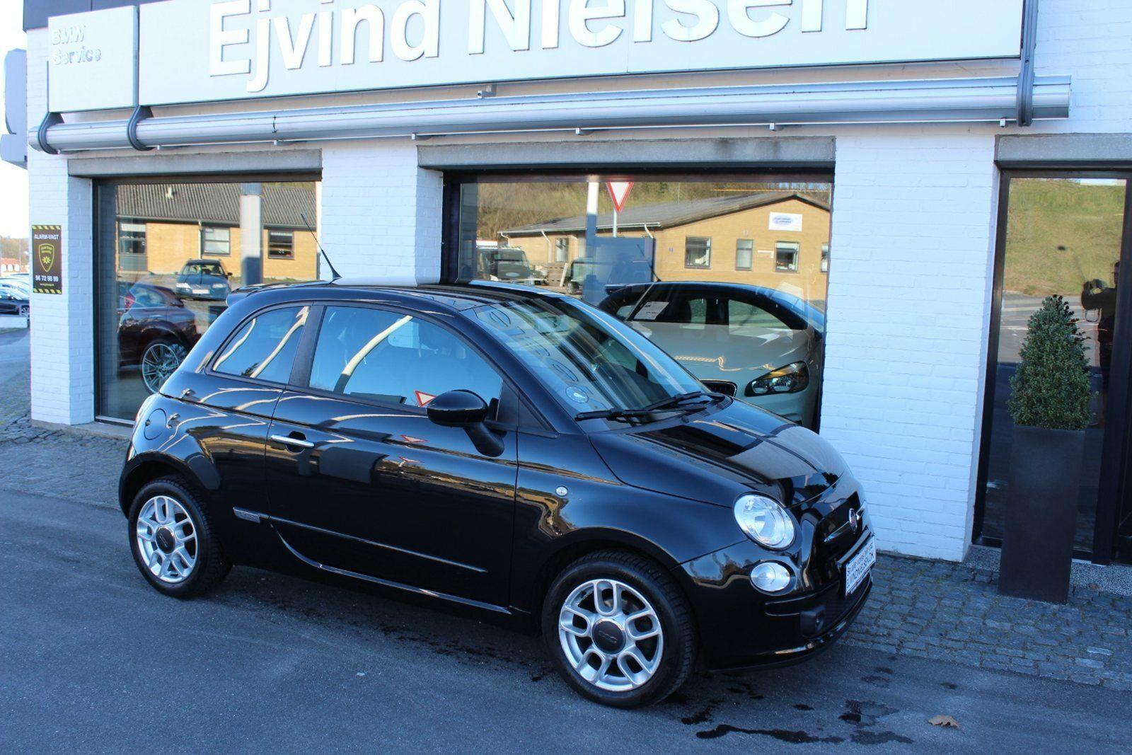 Fiat 500 1,2 Sport 3d - 54.900 kr.