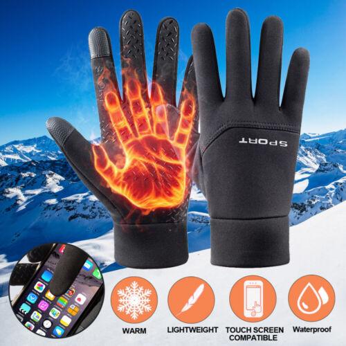 10 ℃ Winter Thermal Ski Gloves Touchscreen Waterproof Snow Motorcycle Women Men