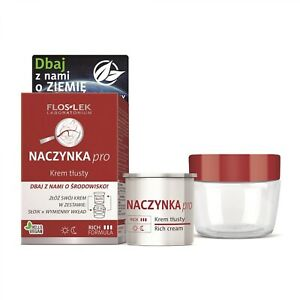 Flos-Lek Naczynka pro krem tłusty/ Rich cream for capillary skin