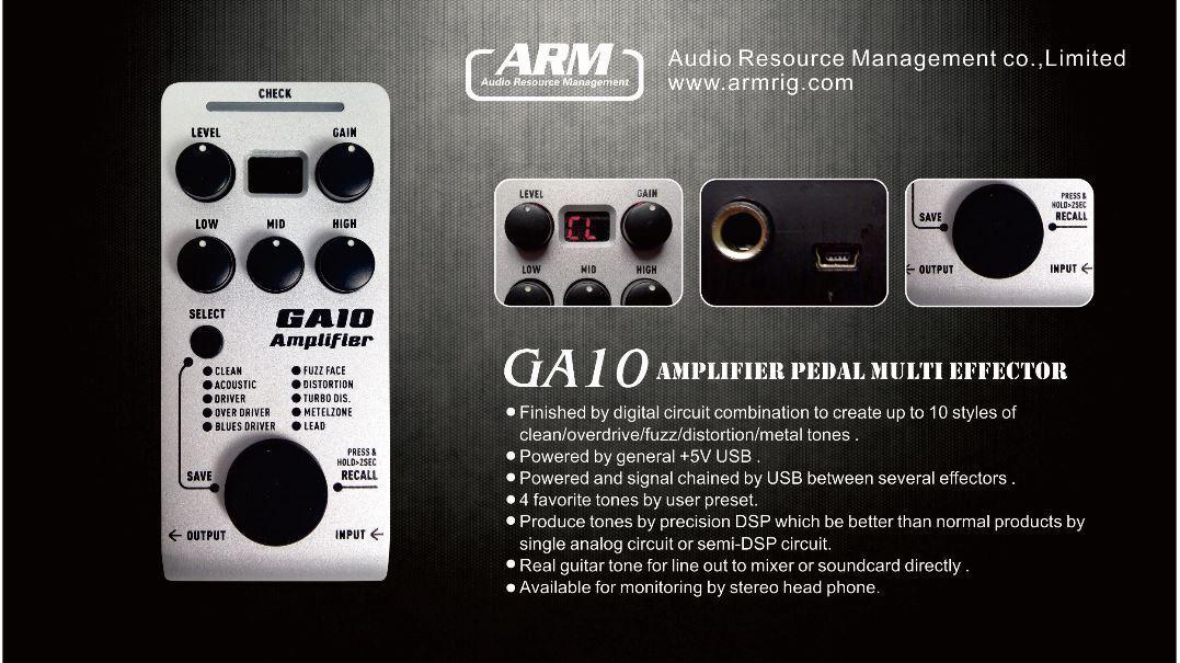 ARM ODAK GA-10 Multi-Drive Unique USB Power Small Powerful Fast US Ship