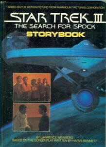 Star-Trek-III-The-Search-for-Spock-Storybook-Weinberg-hc-book-isbn-0671476629