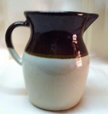 RRP Roseville Brown and Cream Color Creamer Pitcher - VERY NICE CONDITION!