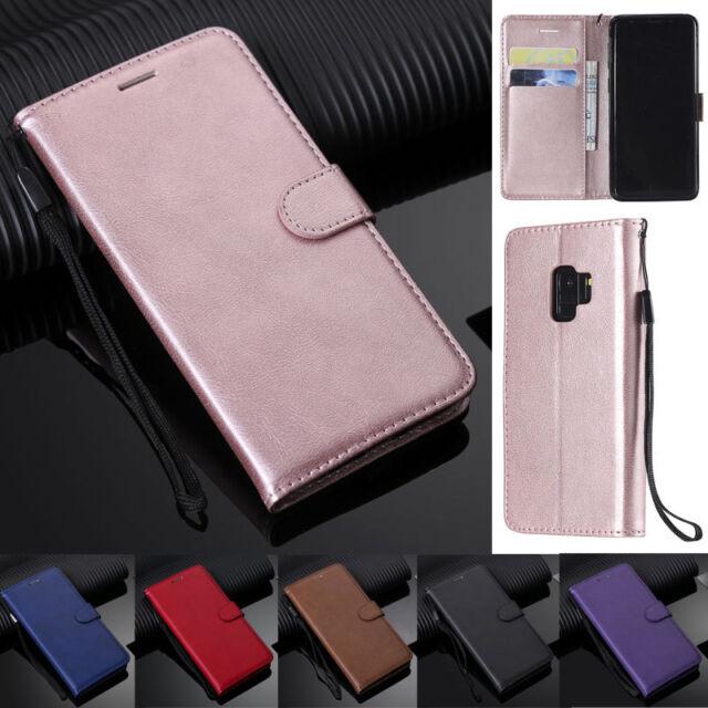 For Samsung A10S A20S A30S A40 A50S S10 S9 Book Wallet Leather Flip Cover Case