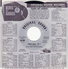"Mint Arizona Soul/Funk 45 classic DYKE & THE BLAZERS ""Funky Bull 1&2"" Free Ship"