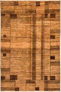 Ziegler-Tapis-moderne-143-x-95-cm-piece-unique-d-039-ORIENT-PONT-noue-a-la-main-455