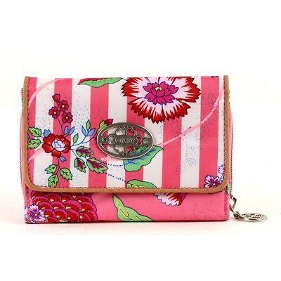 Oilily S Wallet Geldbörse Portemonnaie Summer Romance Coral Rosa Pink