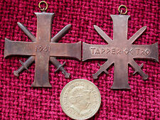 Replica Copy Quisling Cross Orden 'Tapper og Tro' 1941 Full Size NO RIBBON