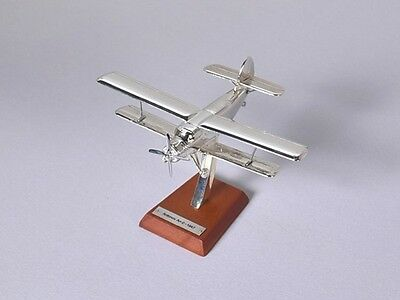 Plane Aircraft Collection 8 Antonov An-2 1947 Plated Silver 1:200 Scale