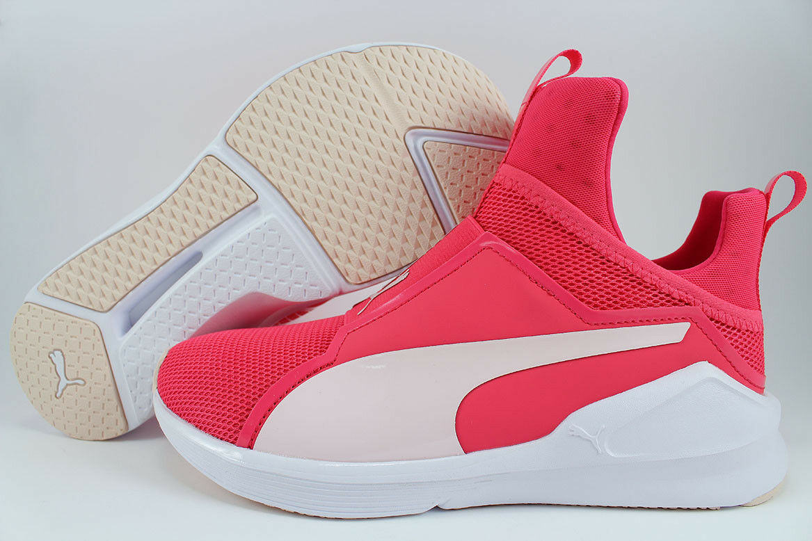 PUMA FIERCE CORE PARADISE rose/ blanc TRAINER KYLIE JENNER RIHANNA US femmes SIZES