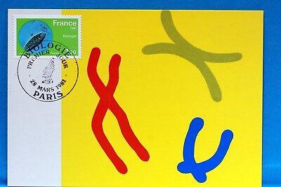 Frankreich & Kolonien Biologie Frankreich Cpa Postkarte Maximum Yt 2127 C Briefmarken