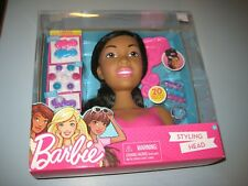 Mattel Barbie Styling Head African American 7 Piece Play Set New For Sale Online