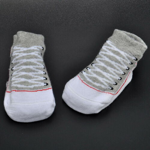 Baby Girls Boys Anti-slip Socks Infant Newborn Slipper Shoes Boots 0-12 Months