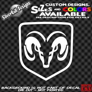 DODGE-RAM-Custom-Vinyl-sticker-Laptop-Car-Window-Bumper-Truck-Hemi-Toolbox