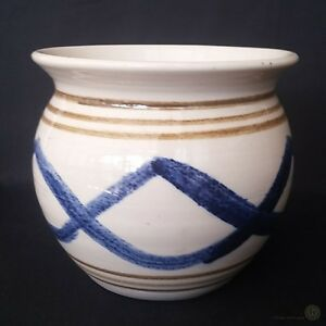 Jamestown-Pottery-Colony-Virginia-Squat-Vase-11cm-FREE-Delivery-UK