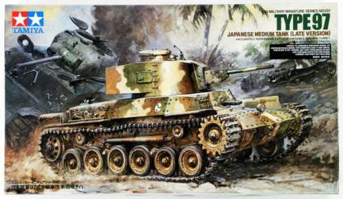 Tamiya 35137 1//35 Japanese Tank Type 97 Late Vers