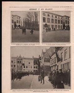 WWI-Prince-of-Wales-George-V-Albert-Ier-de-Belgique-en-France-1914-ILLUSTRATION