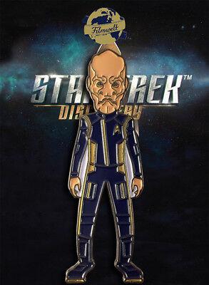 Saru Science-discovery exclusivo coleccionista Collectors pin metal-Star Trek
