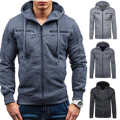 Winter Clothes Men/'s Slim Fit Hoodie Sweater Cardigan Jacket Coat//Sweatshirt Hot