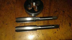 """Plug+OD 38mm //1 1//2/""""die button 2x M10 x1.25 RH tungsten steel Hand tap Inter"""
