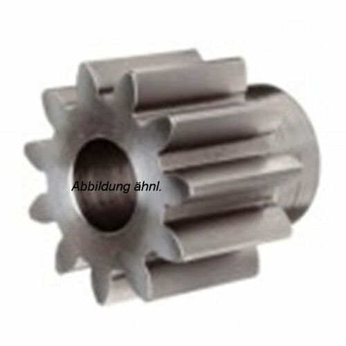 Stirnrad-Zahnrad Stahl C45 Modul 1.0 12-70 Z Naben GW  1 Stück Qualität 8-9