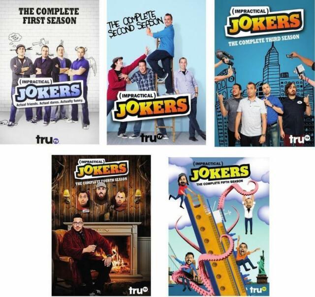 Poco práctico comodines: complete Series temporadas 1-5 (DVD, 2017) 1 2 3 4 5 cuatro cinco
