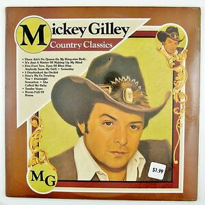 MICKEY-GILLEY-Country-Classics-LP-STILL-SEALED