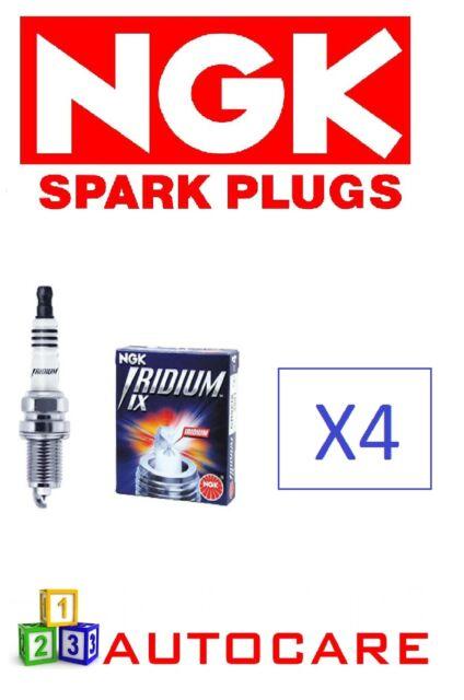4x Ngk Bujía para HONDA CBR1000F dpr9eix-9 5545