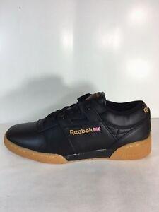 reebok workout plus black gum