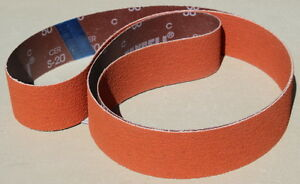 2 Quot X 72 Quot Ceramic Fast Cut Sanding Belt Assortment 2 Ea 36