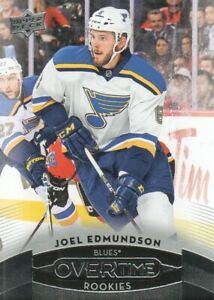 2015-16-Upper-Deck-Overtime-Hockey-106-Joel-Edmundson-RC-St-Louis-Blues