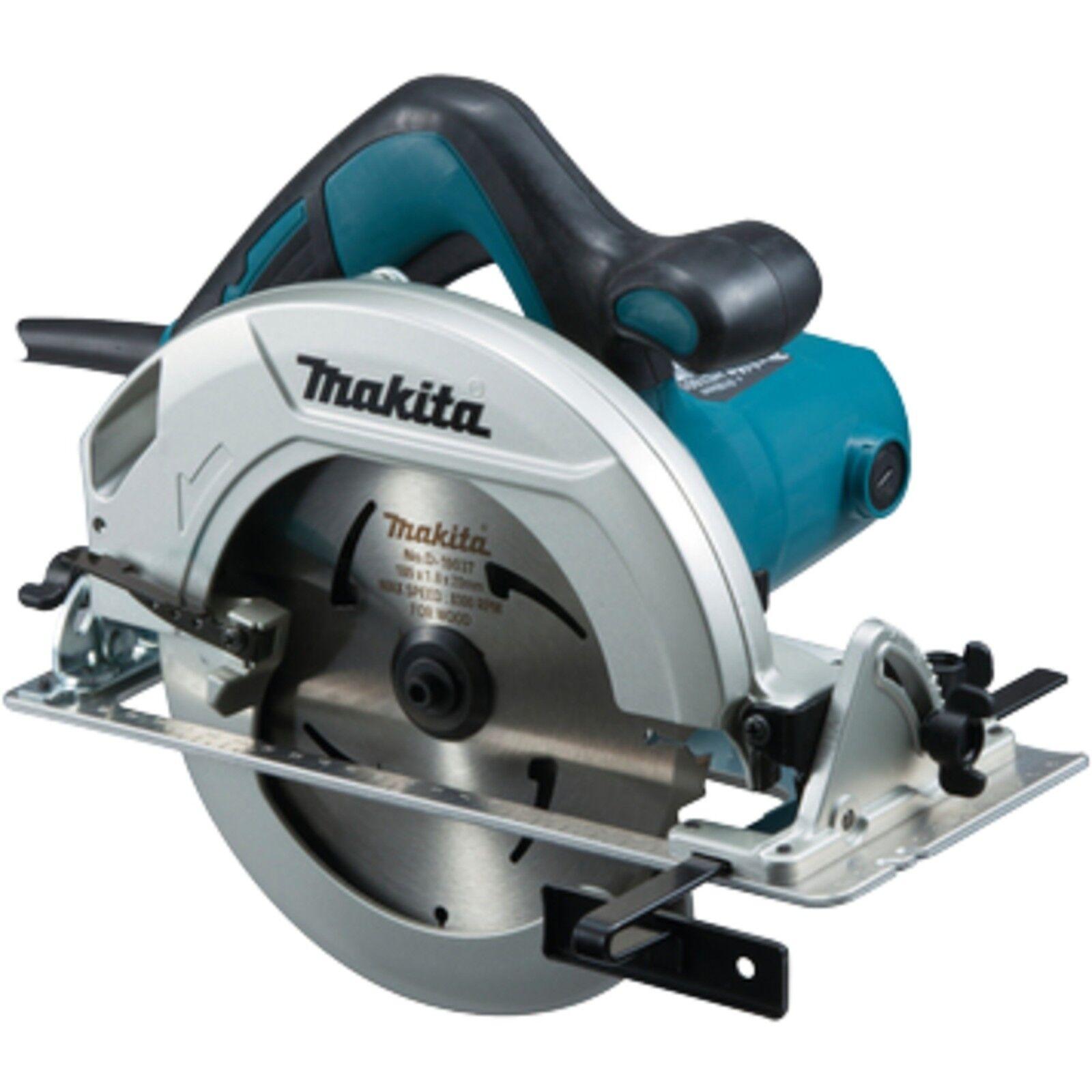 Makita Handkreissäge HS7601J, 66mm, blau