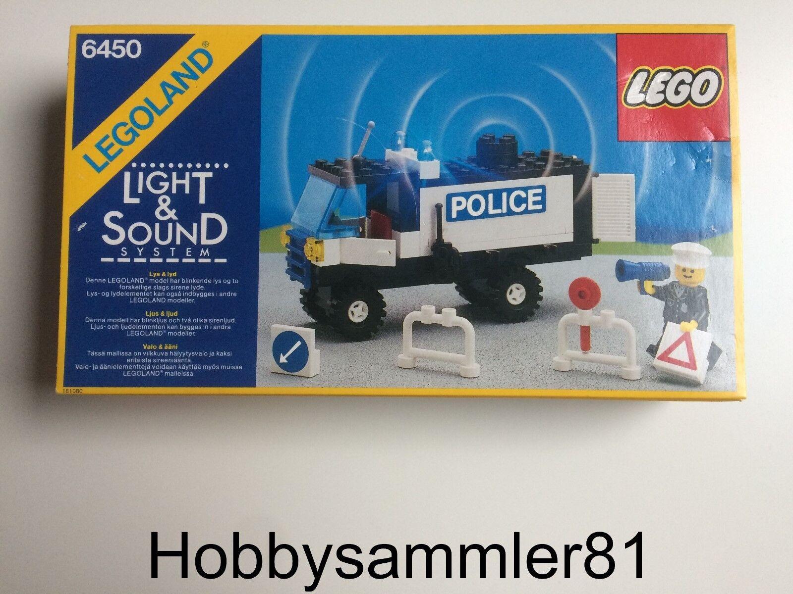 Lego® 6450 Legoland Mobile Police Truck   Polizeieinsatzfahrzeug   Neu und OVP