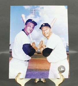 New York Yankees 2002 Mickey Mantle And Roger Maris 8 X 10 Photograph 715Y