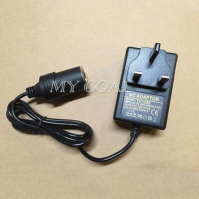 2A 12V Cigarette Lighter Socket 240V Plug 24W DC Car Boat Charger Power Adapter