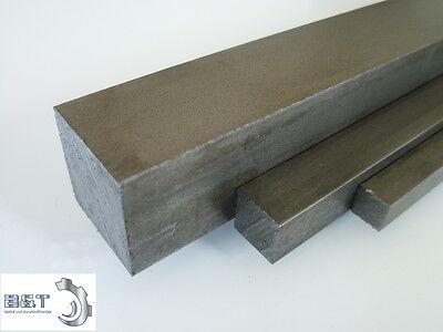 Vierkant Automatenstahl 12x12 mm Länge wählbar 11SMnPB30