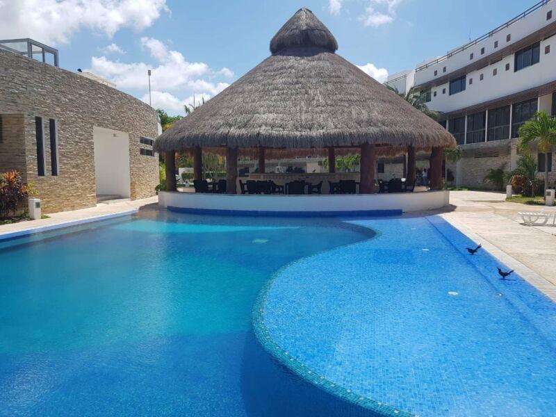 Departamento Amueblado en renta ubicado Kaan Town houses, Cancún
