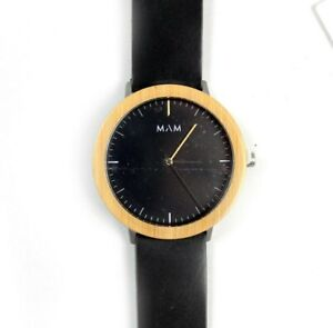 MAM Originals FERRA 629 watch wristwatch men women unisex bamboo NEW