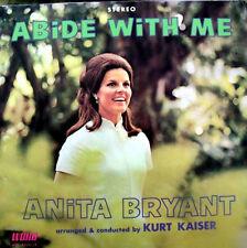 Anita Bryant Abide With Me Gospel Music LP Album