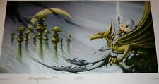 Immortal, signed print, by Rodney Matthews