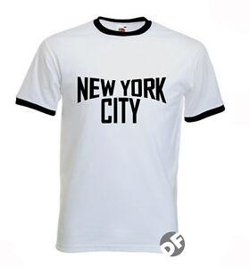 New-York-City-John-Lennon-Exact-Replica-white-T-shirt-Unisex