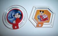 Disney Infinity Power Disc Mickey Mouse Lot Sorcerer Hat & Car Ps3 Wii Xbox