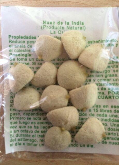 """Nuez de la India 100% original, muy frescas """"barato sale caro""""no se deje engañar"""