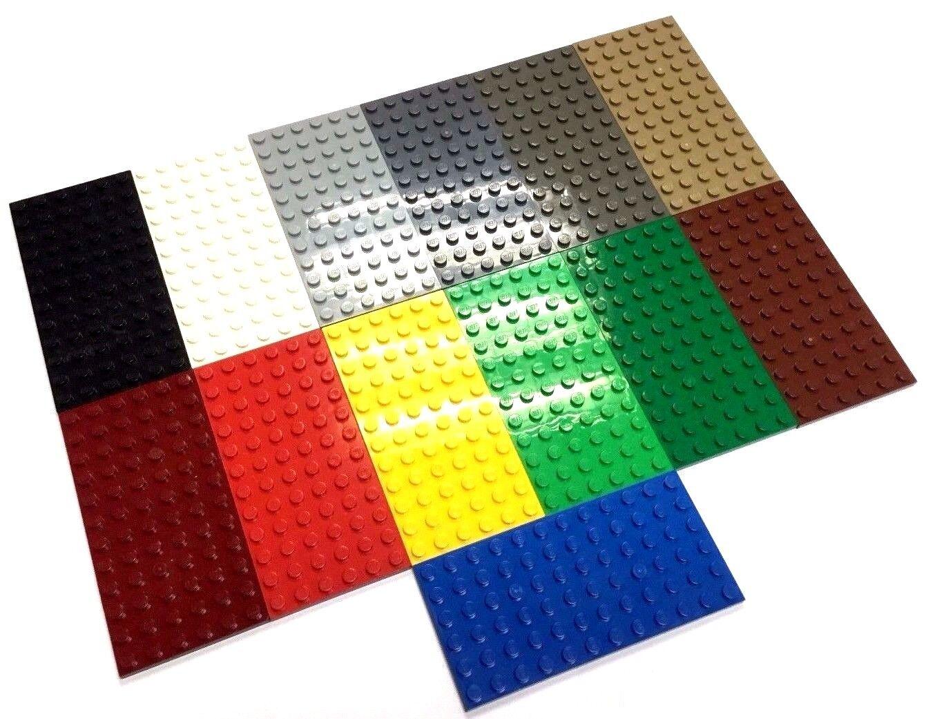 Lego 2 x 3028 bright light green 6 x 12 baseplate Free uk p/&p